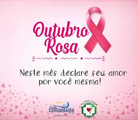 Outubro Rosa: mês de prevenção ao câncer de mama