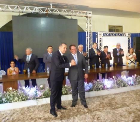 Empossados Prefeito e Vice-Prefeito e Vereadores em Corumbaíba