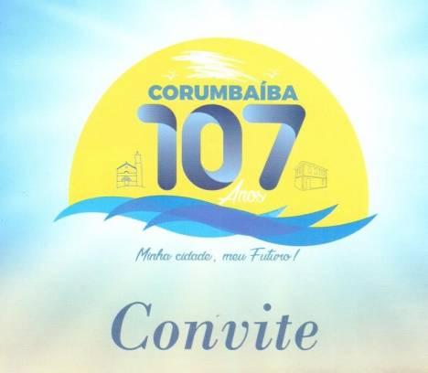 Convite Corumbaíba 107 Anos